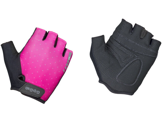 GripGrab Rouleur Padded Gants Femme, pink